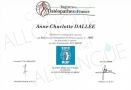 Registre Des Osteopathe De France Anne Charlotte DALLEE