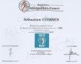 Registre Des Osteopathe De France Sebastien COMBES